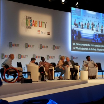 Bezev was represented at the first Global Disability Summit in London.
