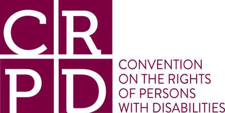 Logo of the UN Convention for the Rights of Persons with Disabilities