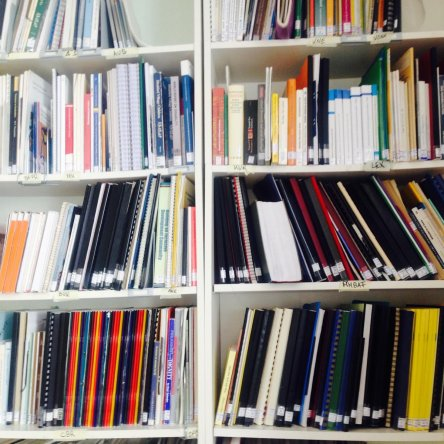 Our reference library in Essen is freely accessible to visitors with prior registration.