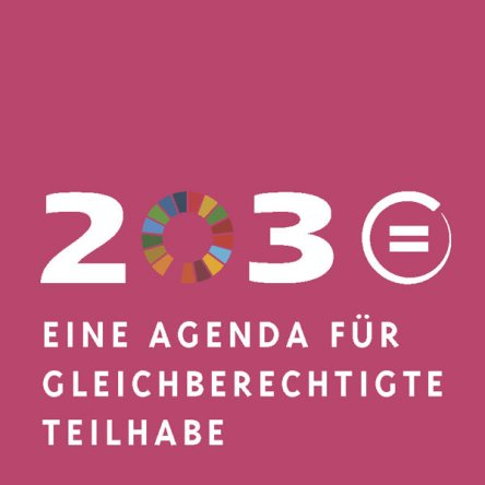A conference on Agenda 2030 was held in Berlin on 1 December 2015.