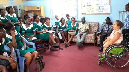 Lecture for nurses of the Regional Hospital